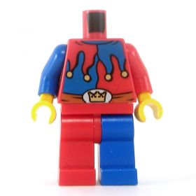 LEGO Red and Blue Jester