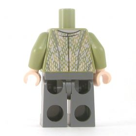 LEGO Olive Green Shirt with Chain Mail, Pendant