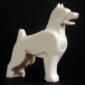 LEGO Dog, White