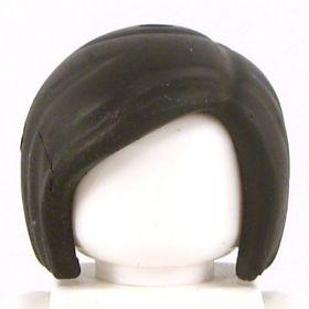 LEGO Hair, Female, Short Bob Cut, Black