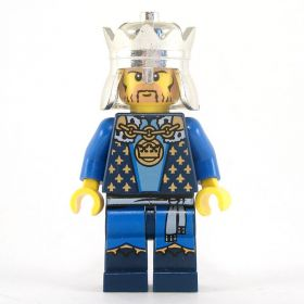 LEGO Noble (King), Blue Outfit, Complete