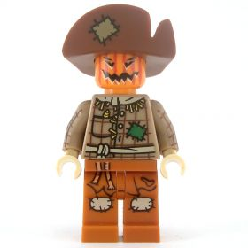 LEGO Scarecrow, Large Hat and Pumpkin Head