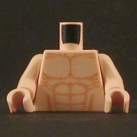LEGO Torso, Flesh, Bare Chest