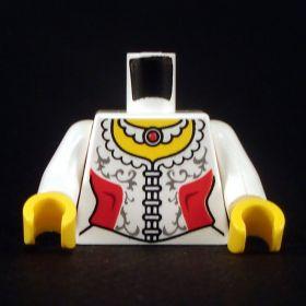 LEGO Torso, Female, Red and White Corset
