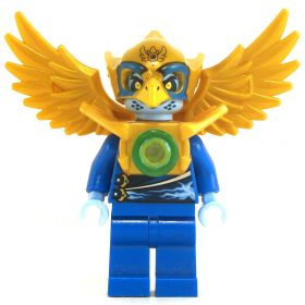 LEGO Aarakocra - Blue and Gold, Energy Design
