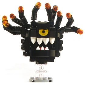 LEGO Beholder, Black, Angry