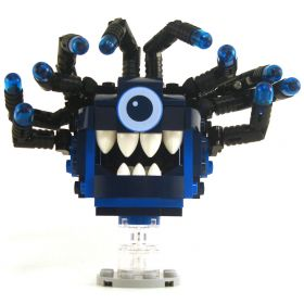 LEGO Beholder, Blues with Black Eyestalks, Blue Eyes