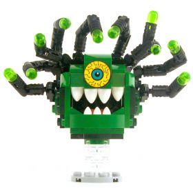 LEGO Beholder, Greens with Black Eyestalks, Crazy Eye