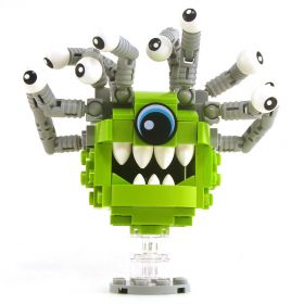 LEGO Beholder, Gray and Orange [CLONE] [CLONE] [CLONE] [CLONE]
