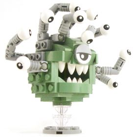 LEGO Beholder, Sand Green with Gray Eye Stalks