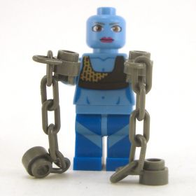 LEGO Devil: Kyton (Chain Devil), Blue with Large Brown Eyes