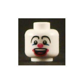 LEGO Head, Clown Face (clowns are scary)