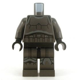 LEGO Fully Armored Outfit, Dark Gray Body Armor