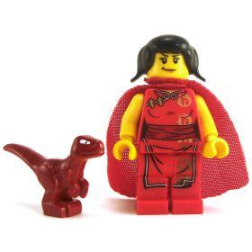 LEGO Guard Drake, Dark Red