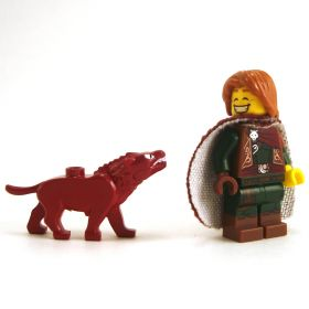 LEGO Guard Drake, Dark Red