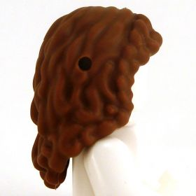 LEGO Hair, Female, Long and Wavy with Side French Briad
