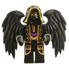 LEGO Aarakocra - Black Owl, Gold Wizard Outfit