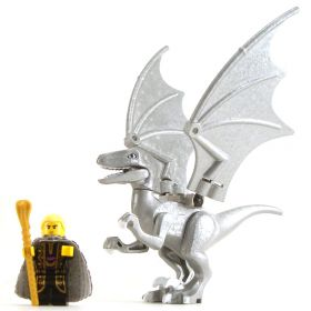 LEGO Silver Dragon, Young or Adult