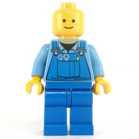 LEGO Commoner: Blue Overalls with Tools