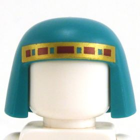 LEGO Egyptian-style Nemes, Dark Turquoise