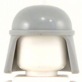 LEGO Helmet with Neck Protection, Light Bluish Gray