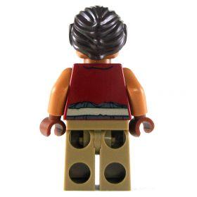 LEGO Hobgoblin (5e), Open Shirt with Bare Arms