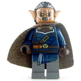 LEGO Hobgoblin Devastator, Dark Blue Shirt, Brown Cape