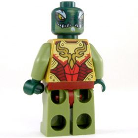 LEGO Lizardfolk King, Gold Outfit