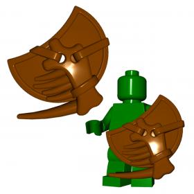 "LEGO ""Lizardman"" Shield by Brick Warriors"