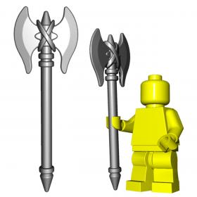 "LEGO ""Minotaur"" Axe by Brick Warriors"