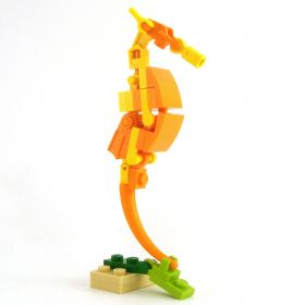 LEGO Giant Seahorse, Yellow/Orange