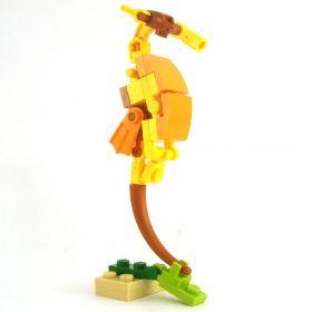 LEGO Giant Seahorse, Yellow/Orange/Dark Red