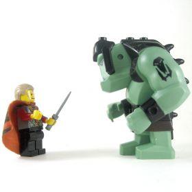 LEGO Troll, Tattoos and Black Armor