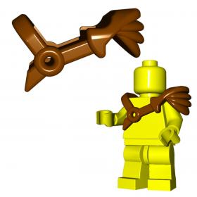 LEGO Gladiator Pauldron by Brick Warriors, Brown