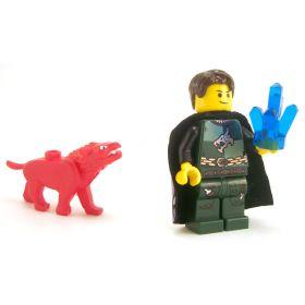 LEGO Arcane Focus: Crystal (Large), Dark Blue