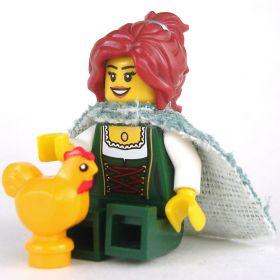 LEGO Chicken, Golden Yellow