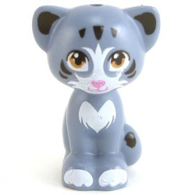 LEGO Cat, Sand Blue with White Features