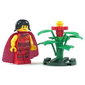 LEGO Shrub (or Awakened Shrub), 6 large leaves, Large Flower
