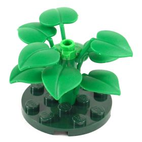 LEGO Shrub (or Awakened Shrub), 6 large leaves