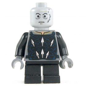 LEGO Svirfneblin, Black with Arrowhead Design