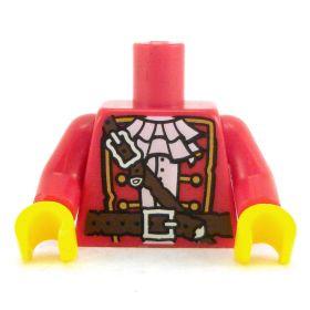 LEGO Torso, Red  Pirate Coat