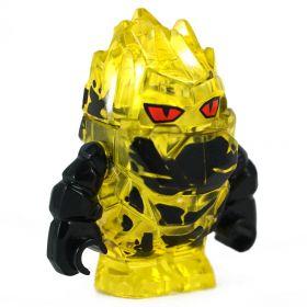 LEGO Magma Elemental, Medium, Thick, Yellow (Also Medium Crystal Golem)