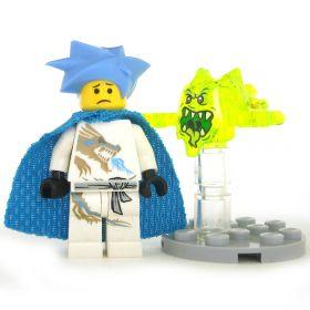 LEGO Poltergeist, Small Transparent, Open Mouth
