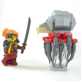 LEGO Grell, Not-quite-LEGO version