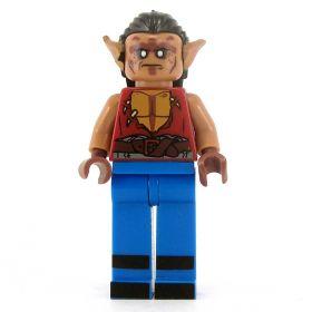 LEGO Half-ogre (Ogrillon), Open Shirt, Blue Pants