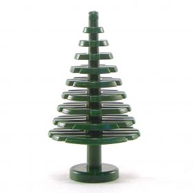 LEGO Tree (or Awakened Tree), Large Conifer, Dark Green
