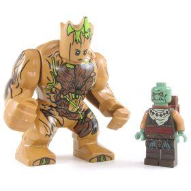 LEGO Golem, Wood (large, light brown)