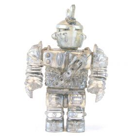 LEGO Animated Armor, Short and Square, Silver