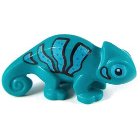 LEGO Shocker Lizard (or Chameleon, Lizard Companion, Familiar)