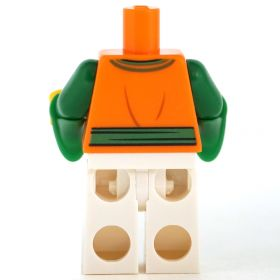 LEGO Green Shirt and Brown Pants, Armored Arm and Leg [CLONE]